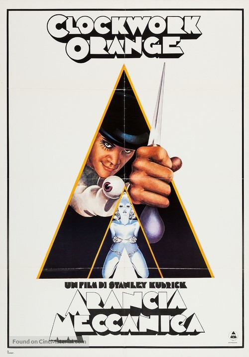 A Clockwork Orange - Italian Movie Poster
