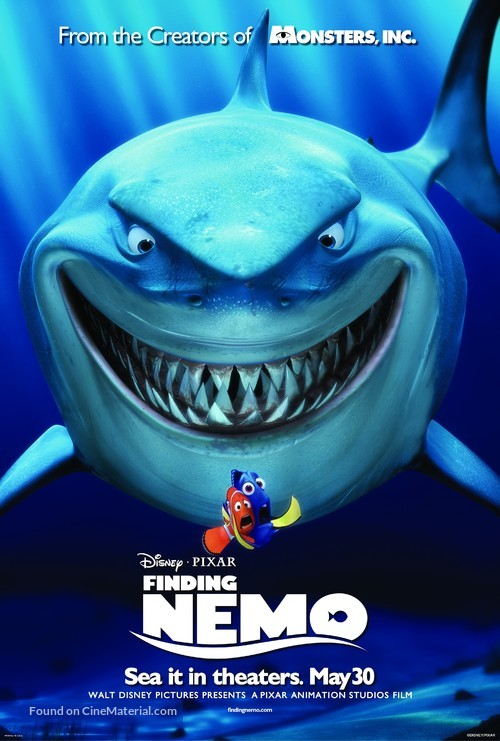 Finding Nemo - Movie Poster