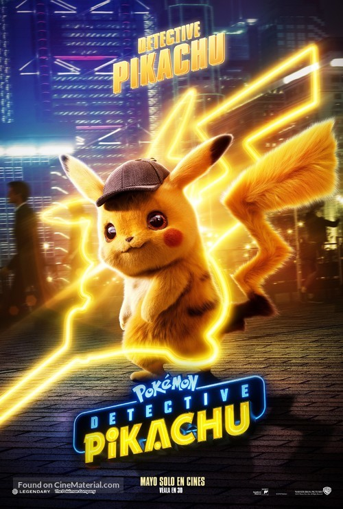 Pokémon: Detective Pikachu - Argentinian Movie Poster