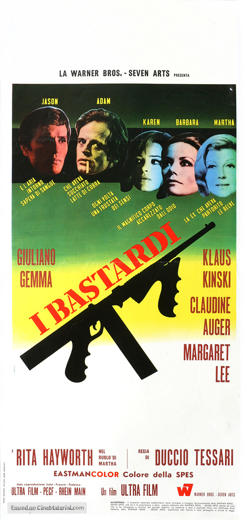 I bastardi - Italian Movie Poster