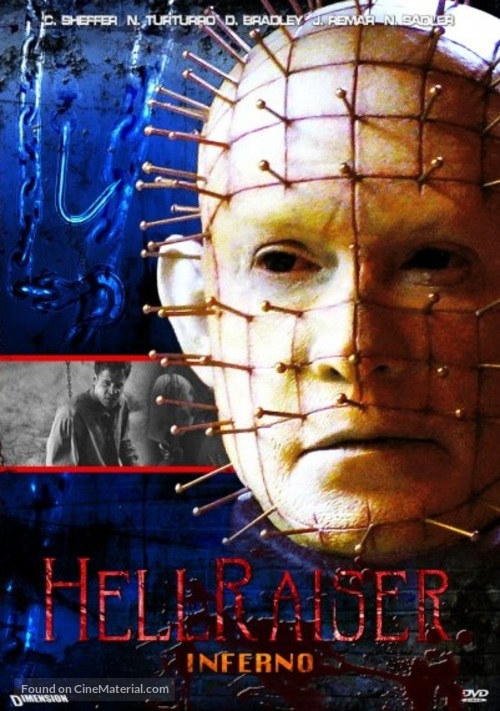 Hellraiser: Inferno - DVD movie cover