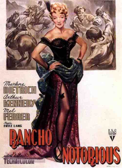Rancho Notorious - Italian Movie Poster