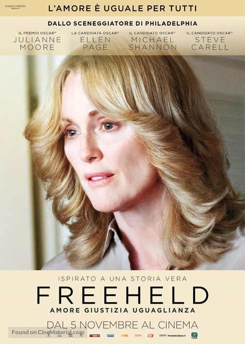 Freeheld - Italian Movie Poster