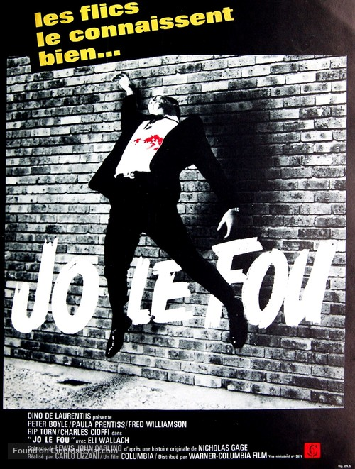 Crazy Joe - French Movie Poster