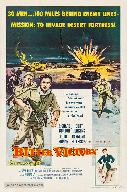 Bitter Victory - Movie Poster