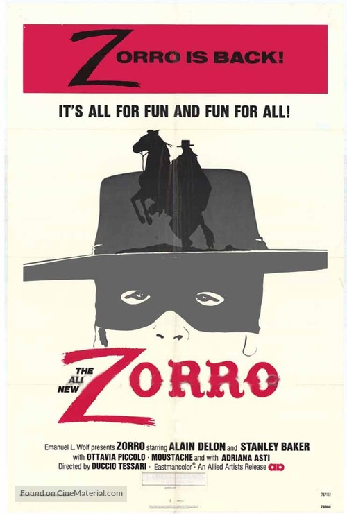 Zorro - Movie Poster