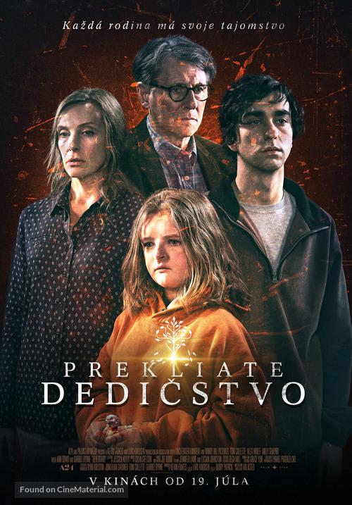 Hereditary Slovak Movie Poster
