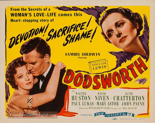 Dodsworth - Movie Poster