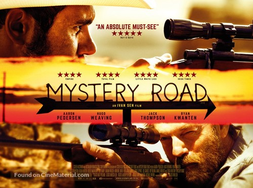 Mystery Road - British Movie Poster
