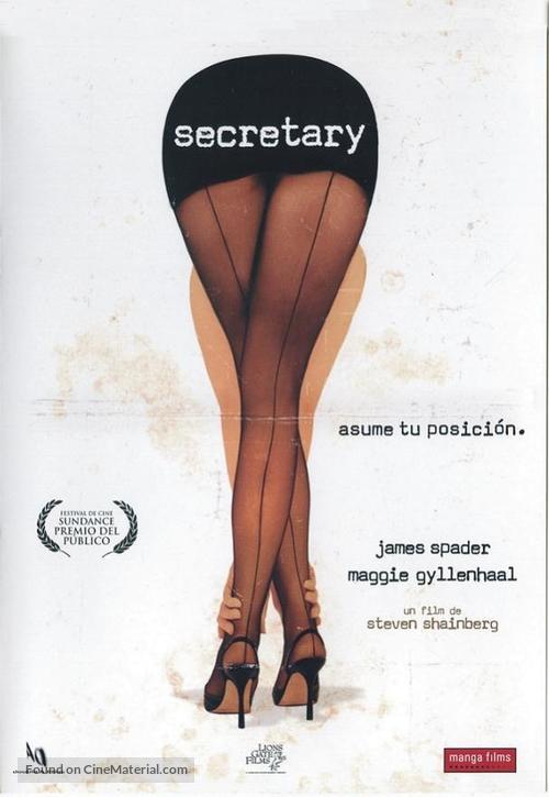 Secretary - Spanish DVD movie cover