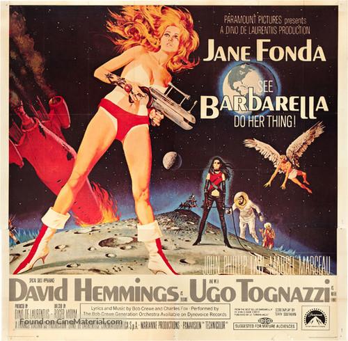 Barbarella - Theatrical movie poster