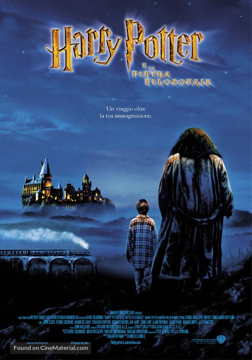 Harry Potter and the Sorcerer's Stone - Italian Theatrical movie poster