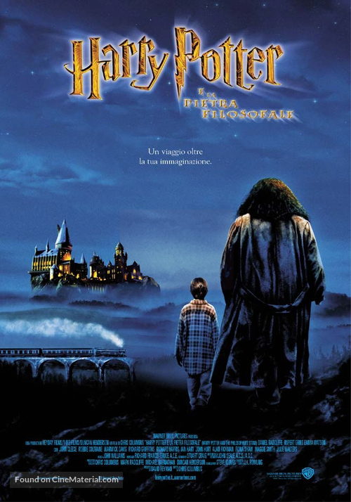 Harry Potter and the Sorcerer's Stone - Italian Theatrical poster