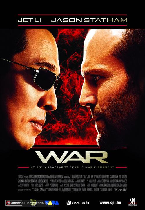 War - Hungarian Movie Poster