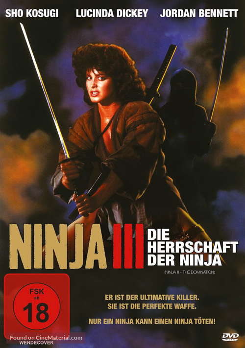 Ninja III: The Domination - German DVD cover