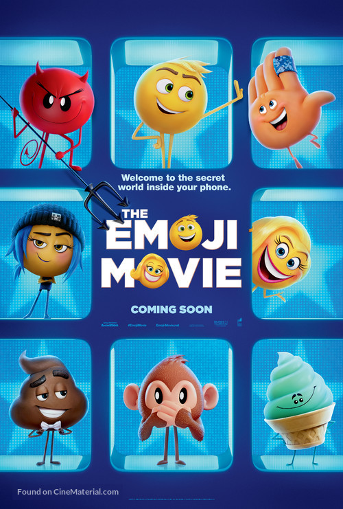 The Emoji Movie - Teaser poster