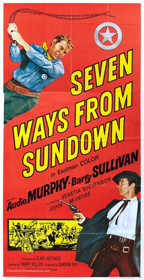 Seven Ways from Sundown - Movie Poster