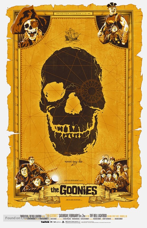 The Goonies - Canadian Homage movie poster