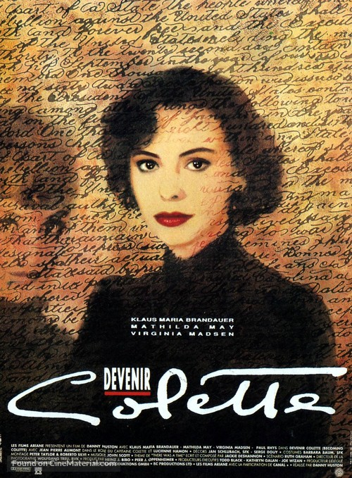 Becoming Colette - French Movie Poster