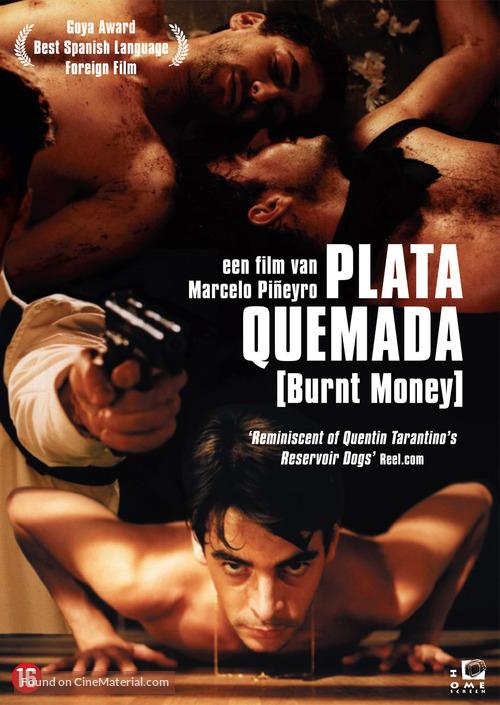 Plata quemada - Dutch DVD cover