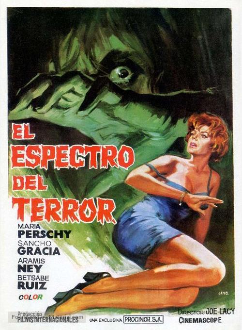El espectro del terror - Spanish Movie Poster
