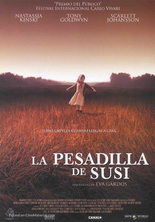 An American Rhapsody - Spanish poster