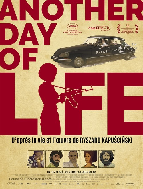 Another Day of Life - French Movie Poster