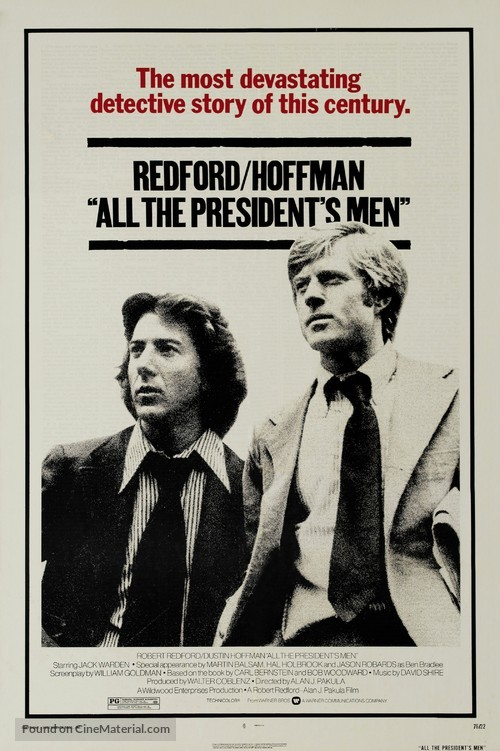 All the President's Men - Movie Poster