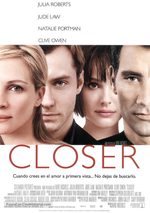 Closer - Spanish poster
