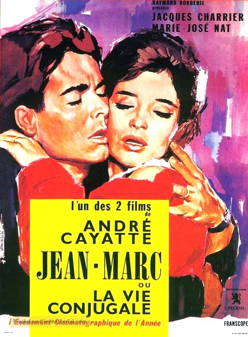 Jean-Marc ou La vie conjugale - French Movie Poster
