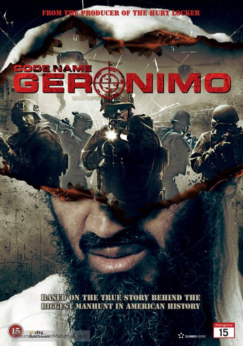 Seal Team Six: The Raid on Osama Bin Laden - Danish DVD cover
