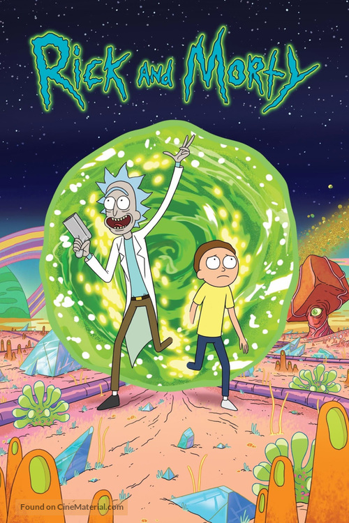 """Rick and Morty"" - Movie Poster"