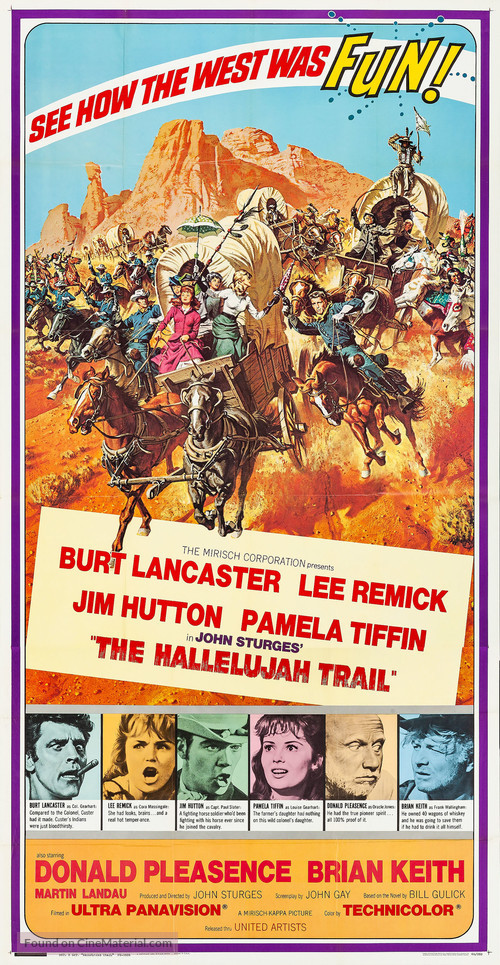 The Hallelujah Trail - Movie Poster