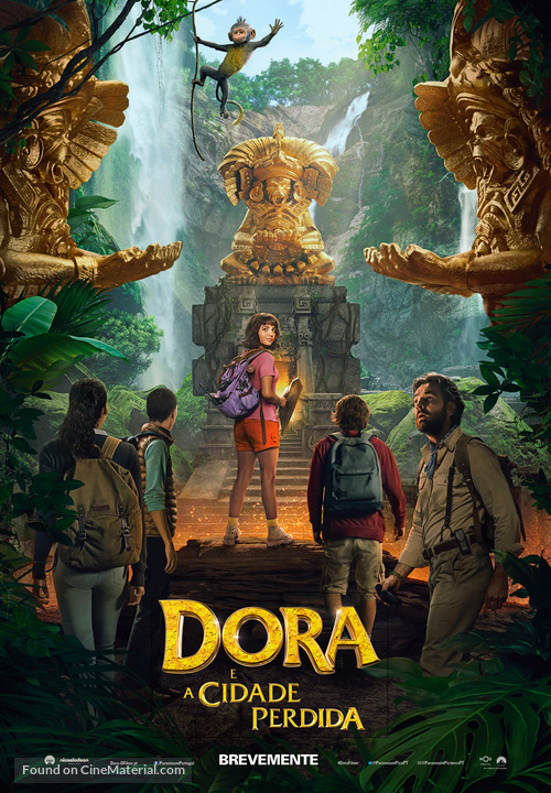 Dora and the Lost City of Gold - Portuguese Movie Poster