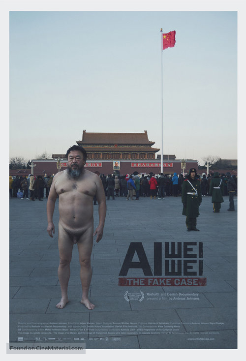 Ai Weiwei the Fake Case - Danish Movie Poster