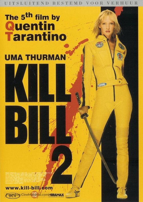 Kill Bill: Vol. 2 - Dutch Movie Cover