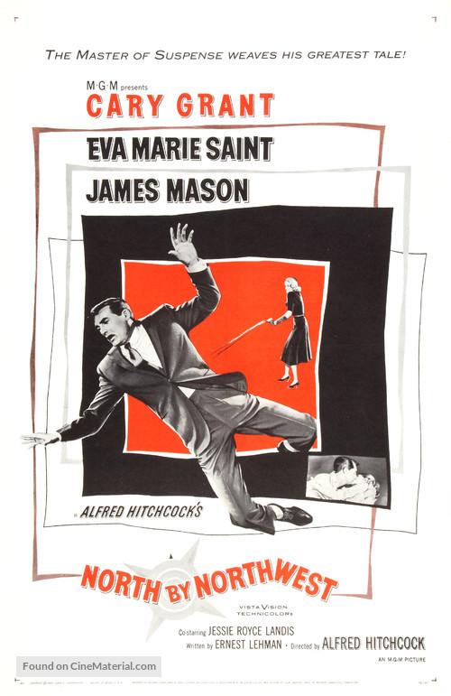 North by Northwest - Movie Poster