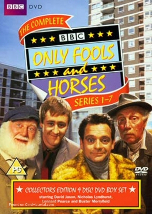 """""""Only Fools and Horses"""" - British DVD movie cover"""
