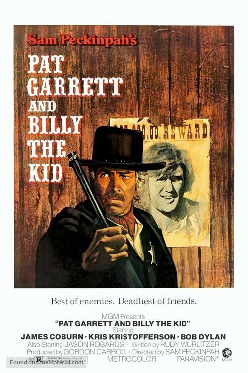 Pat Garrett & Billy the Kid - Movie Poster