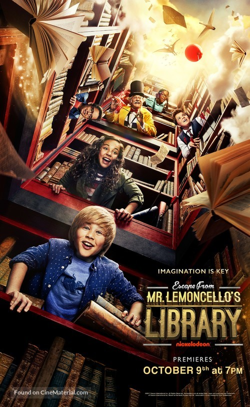 Escape from Mr. Lemoncello's Library - Movie Poster