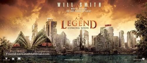 I Am Legend - British Movie Poster