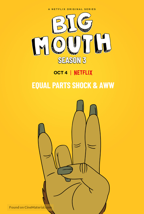"""Big Mouth"" - Movie Poster"