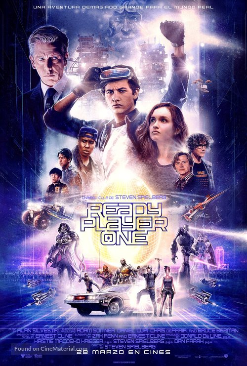 Ready Player One - Spanish Movie Poster