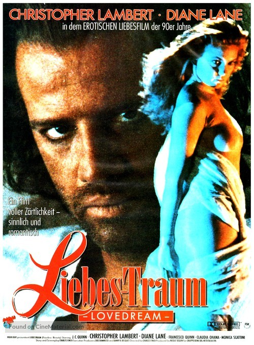 Love Dream - German Movie Poster