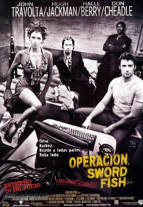 Swordfish - Spanish Movie Poster