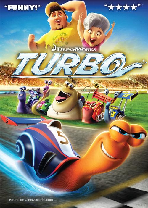Turbo - DVD movie cover