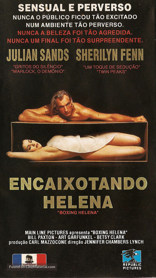 Boxing Helena - Brazilian VHS movie cover