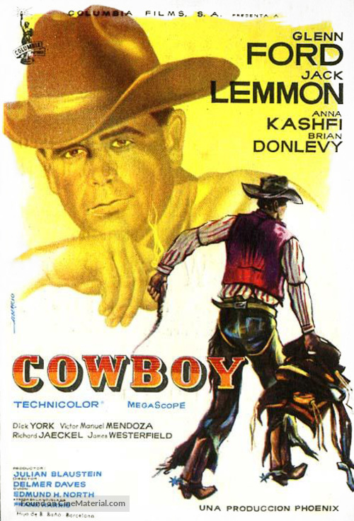 Cowboy - Spanish Movie Poster