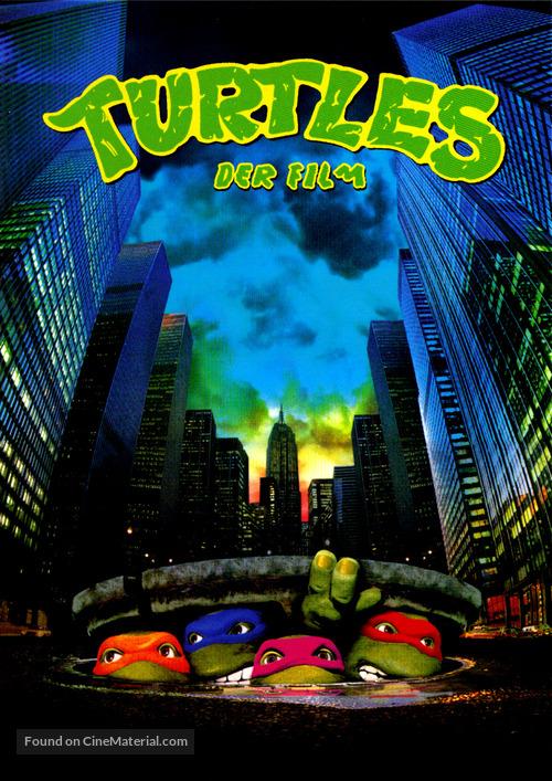 Teenage Mutant Ninja Turtles - German DVD cover