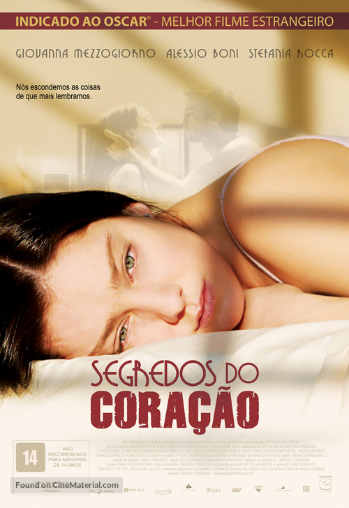 Bestia nel cuore, La - Brazilian Movie Poster